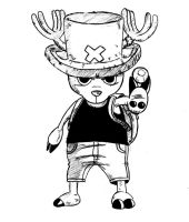 One Piece - Tony Tony Chopper by Eseyy