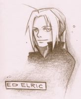 .Eddie Elric Sketchhh. by BlissfulGold