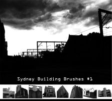 Sydney Building Brushes 1 by prudentia