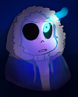 man i sure love sans by Grace-K