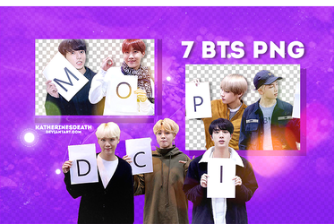 PACK PNG #1 // BTS by KatherineSDeath