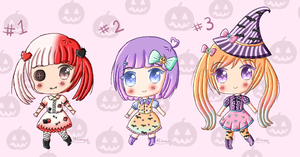 .: Halloween adopts (closed) :. by Domovina