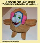 A Nowhere Man Plush Tutorial by DonutTyphoon