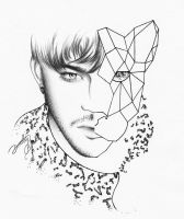 Adam Lambert - I live for animal print by dojjU
