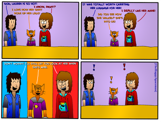 Dan Comics No.55 - New Girl in Town 8 by The-Happy-Spaceman