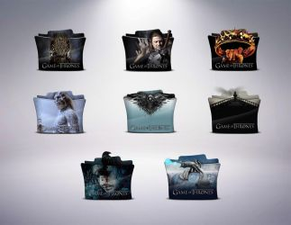 TV Series Folder Icons GAME OF THRONES HD 512x512p by stavrosvran