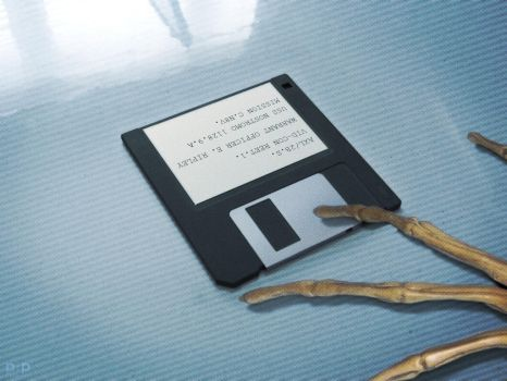 Aliens - Ripley's Inquest Disk by P2Pproductions