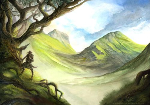 Journey to Alba by AlectorFencer