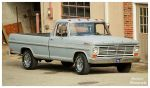 A 1969 Ford F-100 Ranger Pickup Truck by TheMan268