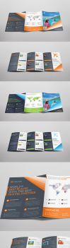 Travelworld Trifold Brochure by Saptarang