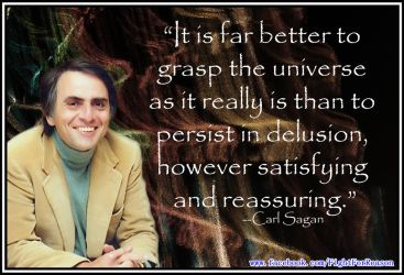 Carl Sagan at his Finest. by AAtheist