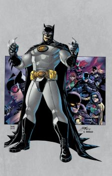 Batman Inc. by Heubert and Le Beau colored by Dany-Morales