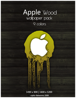 Apple Wood wallpapers by optiv-flatworms