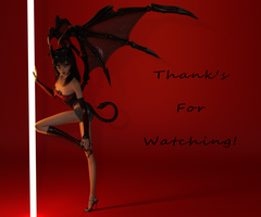 Thank's for watching! (small) by ColeMckay