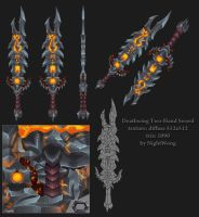 Deathwing Two-Hand Sword by NightWong