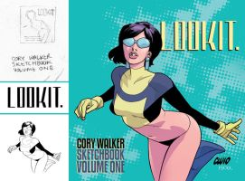 Cory Walker's LOOKIT cover by whoisrico