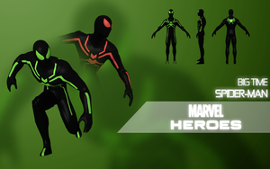 Marvel Heroes: Spider-Man (Big Time) by Citrus07