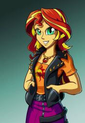 Sunset Shimmer by Sanity-X
