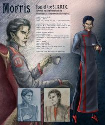 Morris - Character Reference by AlbinaDiamond