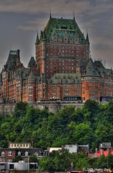 Chateau Frontenac by Buckily