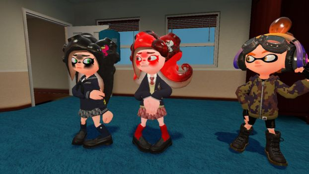 Now because kiara and annette do not like uniforms by alex12357