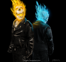 Ghost Riders by KMArts
