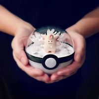 Clefable Ice Cave - Poke Ball Terrarium