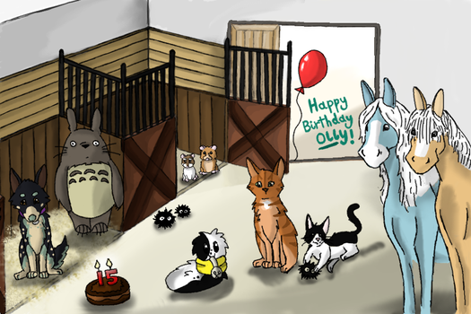 Olly's Bday Picture! by GreatestAllie