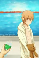 Swim Team Shota-kun by magecakes