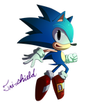Classic Sonic by Tri-shield