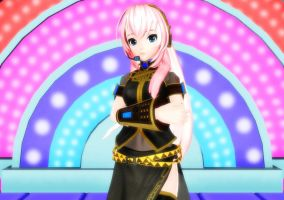 Project Diva Arcade Megurine Luka DOWNLOAD by Il0veNaughtyfins