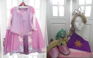Rapunzel costume - Tangled by yunekris