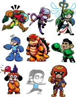 Smash Bros 2 by angieness