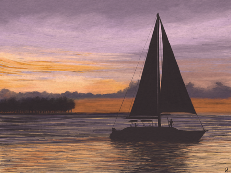 Sailing by MarianthiZ