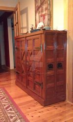 Large side cabinet. 2010 recycled wood CJ Judd by CJ-Judd