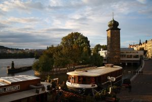 Prague By The River by DamaInNero