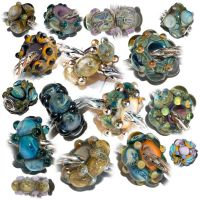Spring 2011 Glass beads by copperrein