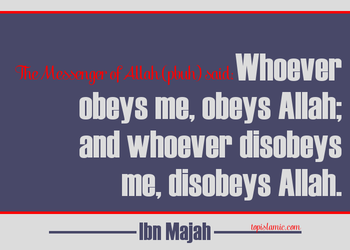 Obey the Messenger by topmuslim