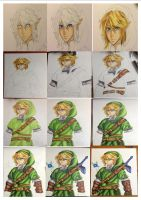 Link! (my process) by partyboy3543