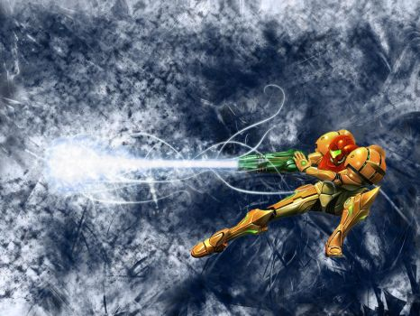 Metroid Wallpaper by DarkPhazon