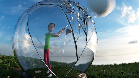 Golf Globe by TheDuckCow