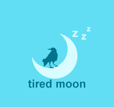 Tired Moon logo by Criopixel