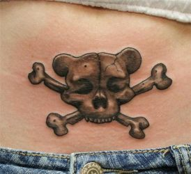 teddy skull by larryfarley
