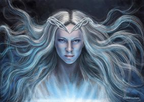 The Lord of the Rings. Galadriel by Victoria-victorem