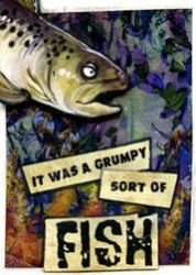 ACEO - Grumpy Fish by ursulav