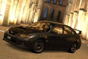 modified impreza by JoshuaCordova