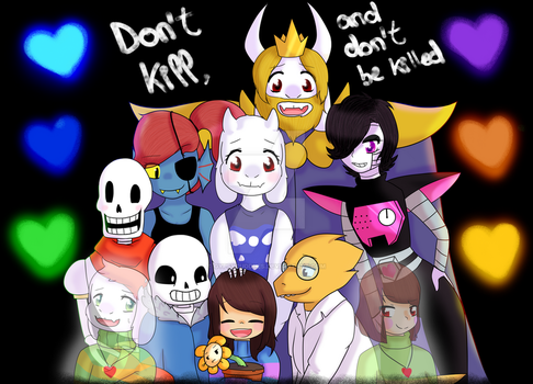 Don't kill and don't be killed by GypsyCuddles