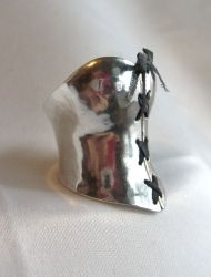 Sterling Corset Ring by fairyfrog
