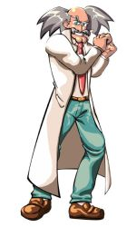 Dr. Wily by Inkmonkey-Woodis