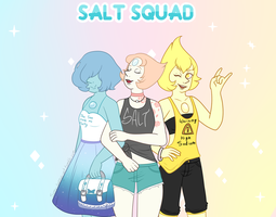 Casual Salt Squad by MangoBunnies